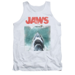 Image for Jaws Tank Top - Vintage Poster