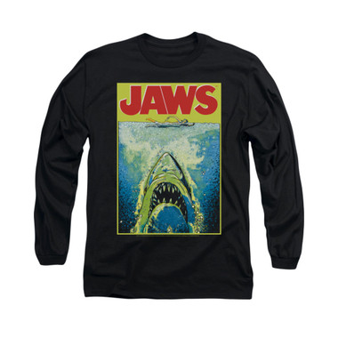 Image for Jaws Long Sleeve T-Shirt - Bright Jaws