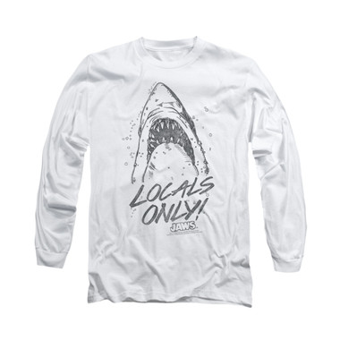 Image for Jaws Long Sleeve T-Shirt - Locals Only