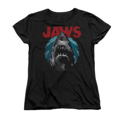 Image for Jaws Woman's T-Shirt - Water Circle