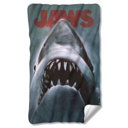 Image for Jaws Fleece Blanket - Shark