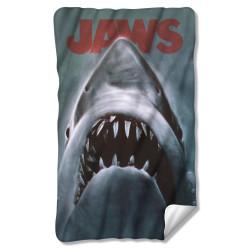 e4d5df3f Jaws 3/4 T-Shirt - Shark Sun - NerdKungFu