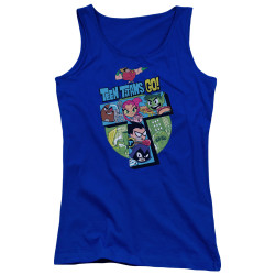 Image for Teen Titans Go! Girls Tank Top - Big T