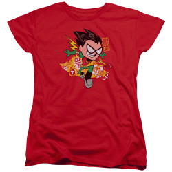 Image for Teen Titans Go! Woman's T-Shirt - Robin