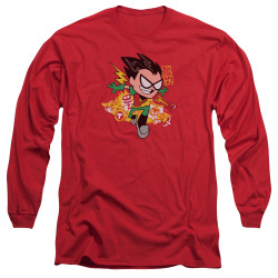 Image for Teen Titans Go! Long Sleeve T-Shirt - Robin