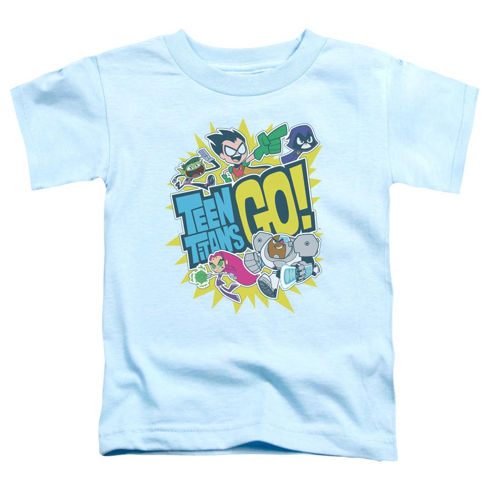 6b5328a9a Teen Titans Go! Toddler T-Shirt - Go - NerdKungFu.com