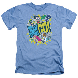 Image for Teen Titans Go! Heather T-Shirt - Go