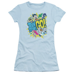 Image for Teen Titans Go! Girls T-Shirt - Go
