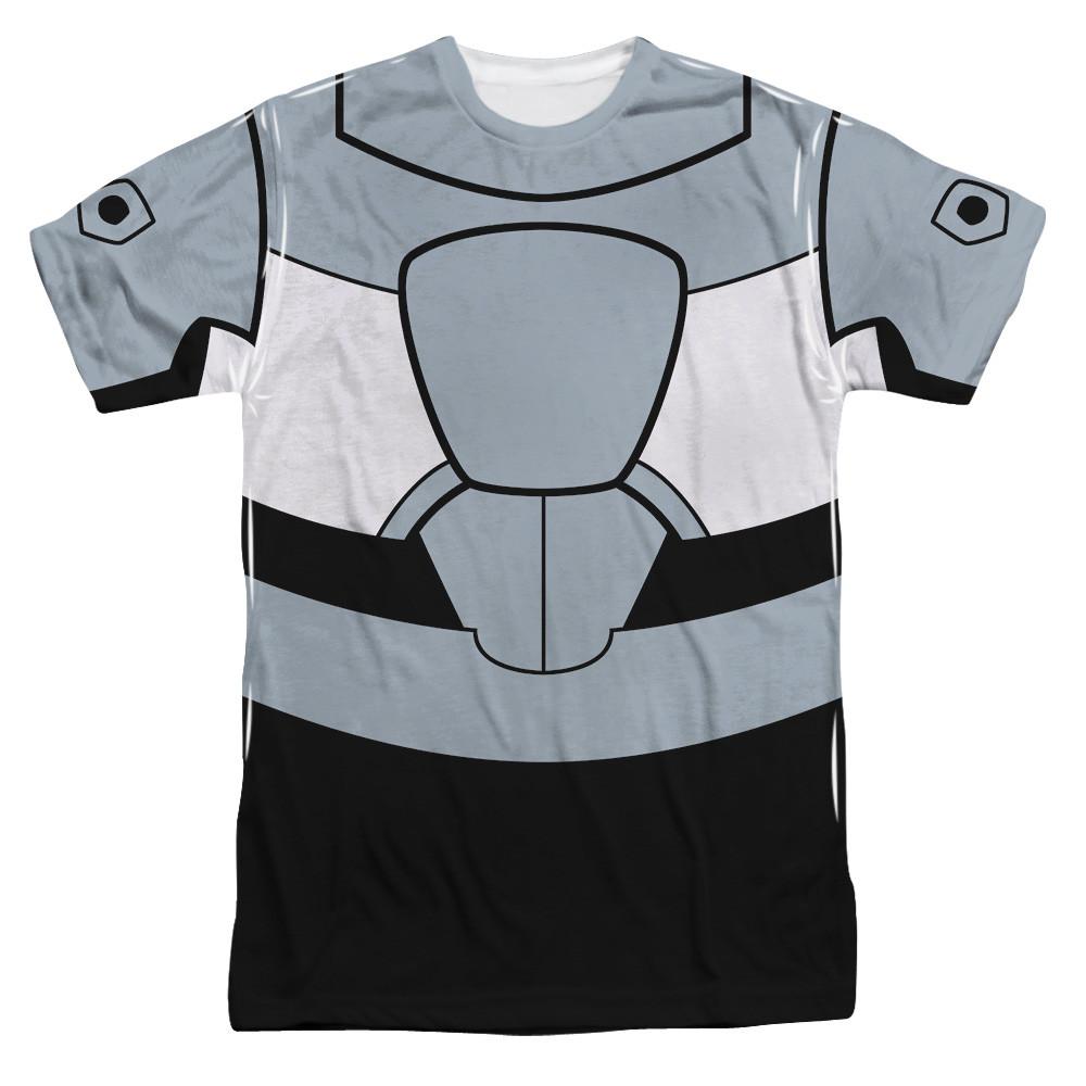 195593dc6553 Teen Titans Go! T-Shirt - Sublimated Cyborg Uniform - NerdKungFu