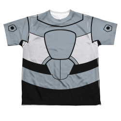 Image for Teen Titans Go! Sublimated Youth T-Shirt - Cyborg Uniform