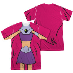 Image Closeup for Teen Titans Go! Sublimated T-Shirt - Starfire Uniform