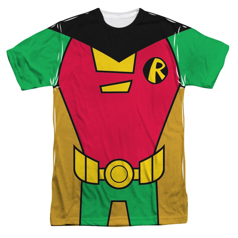 648c8af8 Teen Titans Go! Sublimated T-Shirt - Robin Uniform