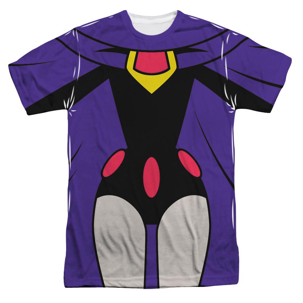 36978ebe Teen Titans Go! Sublimated T-Shirt - Raven Uniform