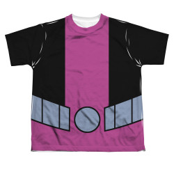 Image for Teen Titans Go! Sublimated Youth T-Shirt - Beast Boy Uniform 100% Polyester