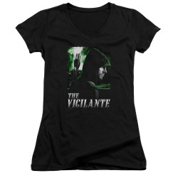 Image for Arrow Girls V Neck T-Shirt - Star City Defender