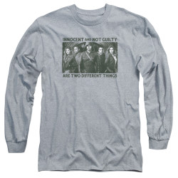 Image for Arrow Long Sleeve T-Shirt - Not Guilty