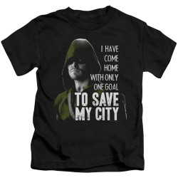 Image for Arrow Kids T-Shirt - Save My City