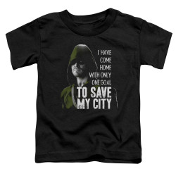 Image for Arrow Toddler T-Shirt - Save My City