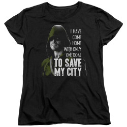 Image for Arrow Woman's T-Shirt - Save My City