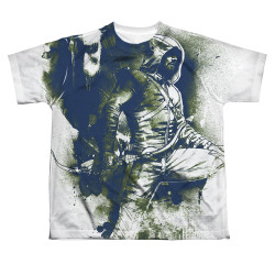 Image for Arrow Sublimated Youth T-Shirt - Spray Paint