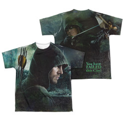Image Closeup for Arrow Sublimated Youth T-Shirt - Hero