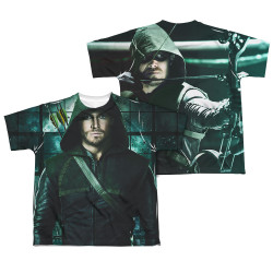 Image Closeup for Arrow Sublimated Youth T-Shirt - Two Sides