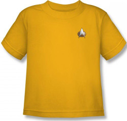 Image for Star Trek the Next Generation Uniform Kids T-Shirt - Engineering