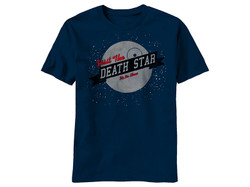 Image for Star Wars T-Shirt - Visit the Death Star It's No Moon