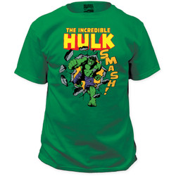 Image Closeup for The Incredible Hulk T-Shirt - Smash!