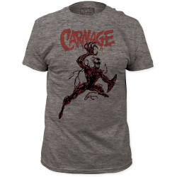 Image for Carnage T-Shirt - Action Pose