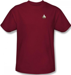 Image for Star Trek the Next Generation Uniform T-Shirt - Command