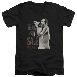 Image for Scott Weiland V-Neck T-Shirt - Not Dead