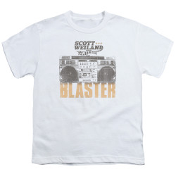 Image for Scott Weiland Youth T-Shirt - Blaster