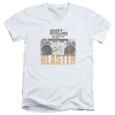 Image for Scott Weiland V-Neck T-Shirt - Blaster
