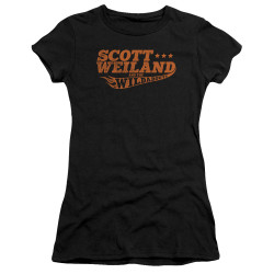 Image for Scott Weiland Girls T-Shirt - Logo