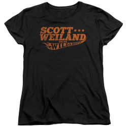 Image for Scott Weiland Woman's T-Shirt - Logo