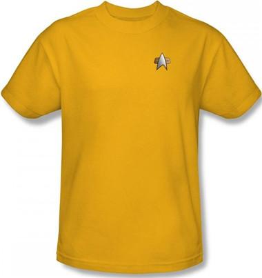 Image for Star Trek Deep Space Nine Uniform T-Shirt - Engineering
