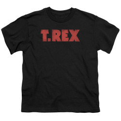 Image for T Rex Youth T-Shirt - Logo