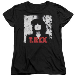 Image for T Rex Woman's T-Shirt - the Slider
