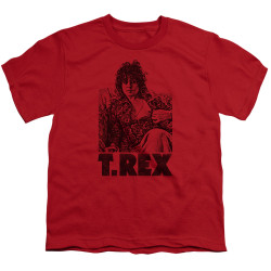 Image for T Rex Youth T-Shirt - Lounging