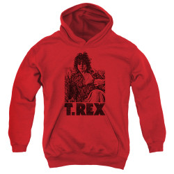 Image for T Rex Youth Hoodie - Lounging