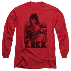 Image for T Rex Long Sleeve T-Shirt - Lounging