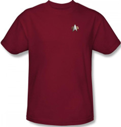 Image for Star Trek Deep Space Nine Uniform T-Shirt - Command