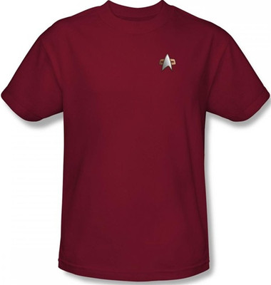 Image for Star Trek Deep Space Nine Uniform T-Shirt - Command