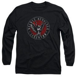 Image for Velvet Revolver Long Sleeve T-Shirt - Circle Logo