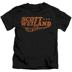 Image for Scott Weiland Kids T-Shirt - Logo