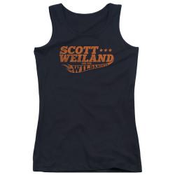Image for Scott Weiland Girls Tank Top - Logo