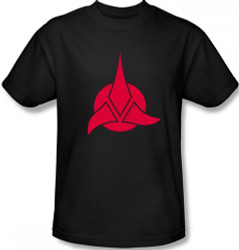 Image Closeup for Star Trek T-Shirt - Klingon Logo