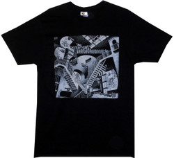 Image Closeup for MC Escher Relativity T-Shirt