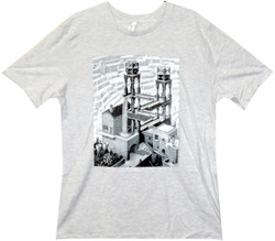 Image Closeup for MC Escher Waterfall T-Shirt